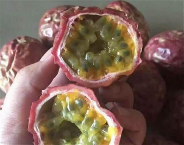 百香果表皮变皱了能吃吗?